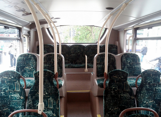 Why are there no seatbelts on a bus?