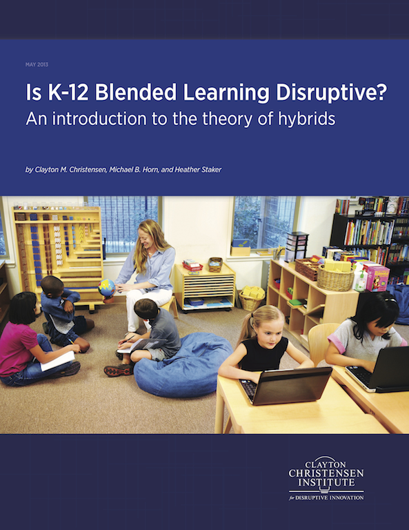 Is-K-12-blended-learning-disruptive