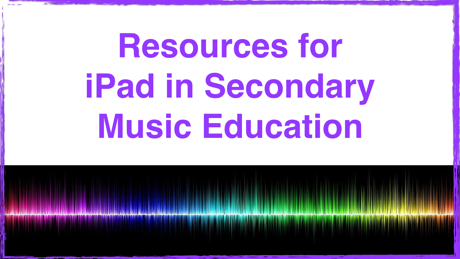 iPad Secondary Education