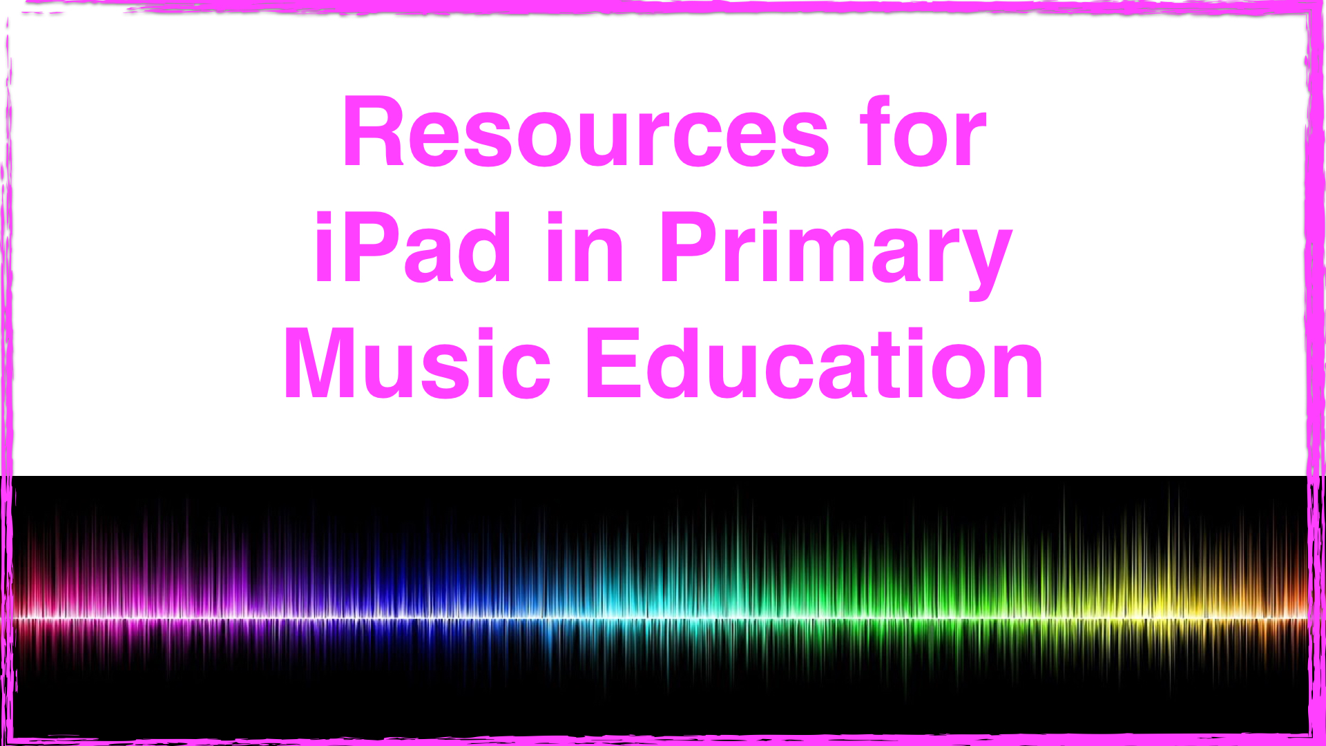 iPad Primary Education